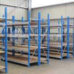 1800mm Longspan shelving in use