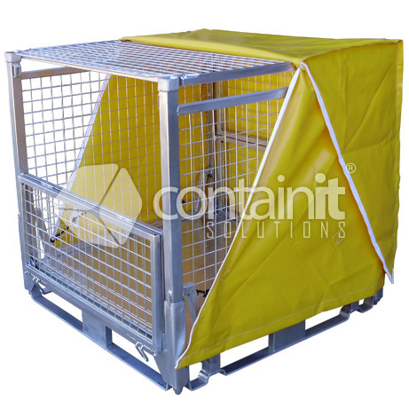 PVC weather cover (use with lid)