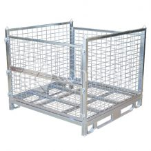 Knockdown Metal Base Pallet Cages