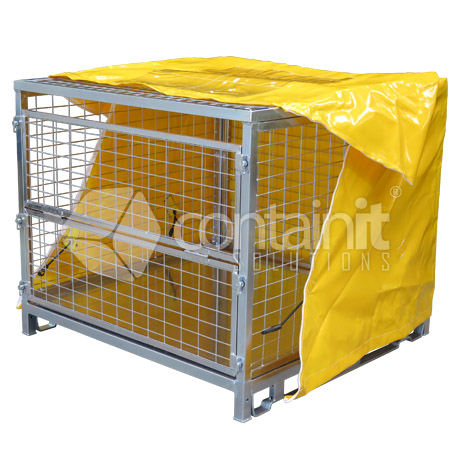 800mm High Multi-Purpose with Lid & Cover