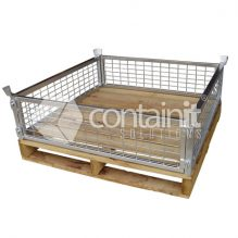 300mm High Easy Store Pallet Cage