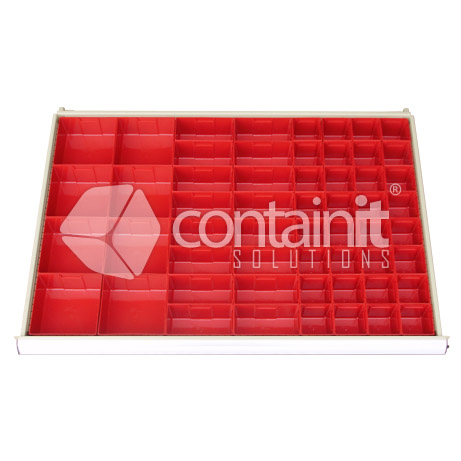 56 Plastic Compartments
