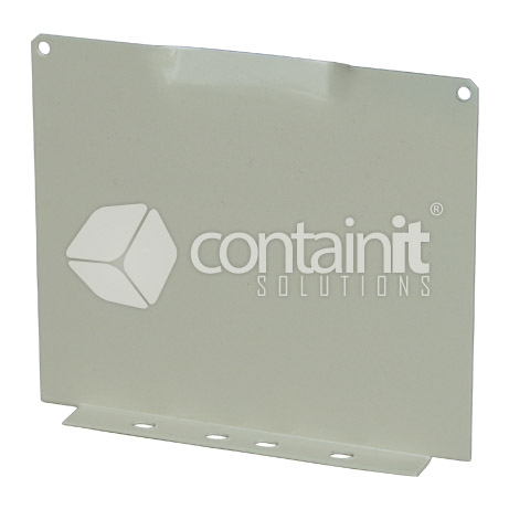 125h x 150mmw side to side partition