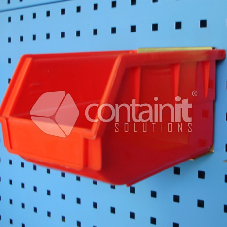 product holder for plastic parts bin