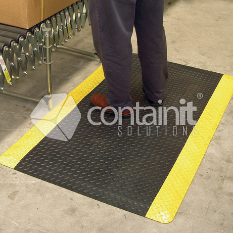Soft Tread Anti Fatigue Matting in Use