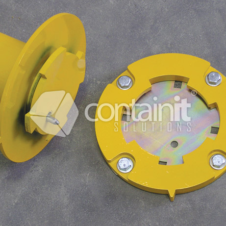 Removable surface mount bollard