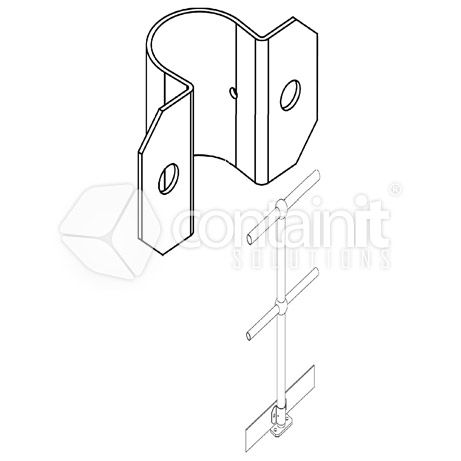 Toeboard Securing Clamp
