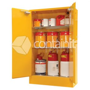 internal dangerous goods cabinets for flammable liquids