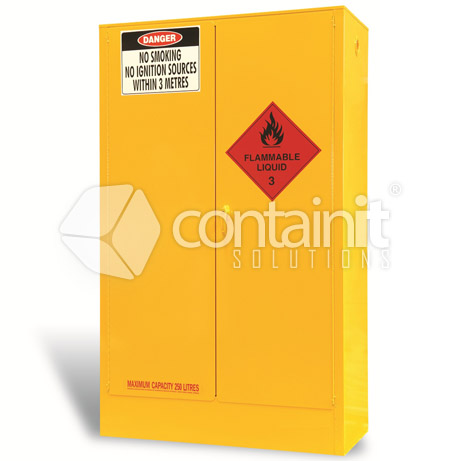 extra large capacity premium heavy duty safety cabinets CSC250 closed