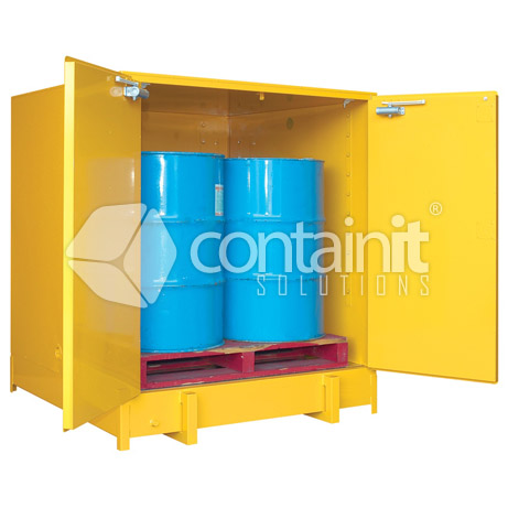 Extra large capacity premium heavy duty safety cabinets - dg020