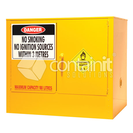 internal dangerous goods cabinets for class 5-1-oxidising-agents - dg021