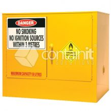 Internal Dangerous Goods Cabinets for Class 5.2 Organic Peroxides