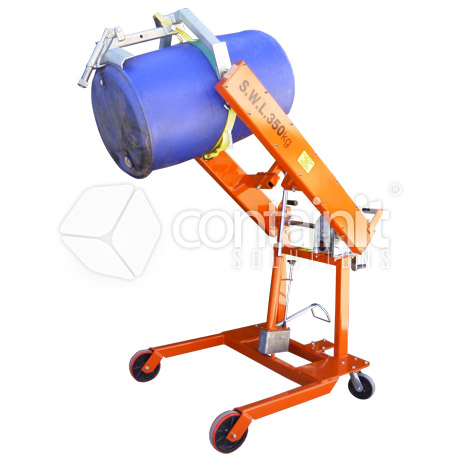 Multi-Purpose Drum Lift & Tip Machine