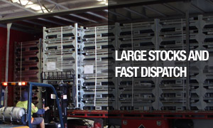Large Stock and Fast Dispatch