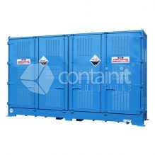 Outdoor Dangerous Goods Store for Class 8 IBC's