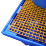 Poly 1 x 1000L IBC Bund with Fibreglass Grating
