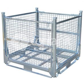 Full Height Collapsible Mesh Cage