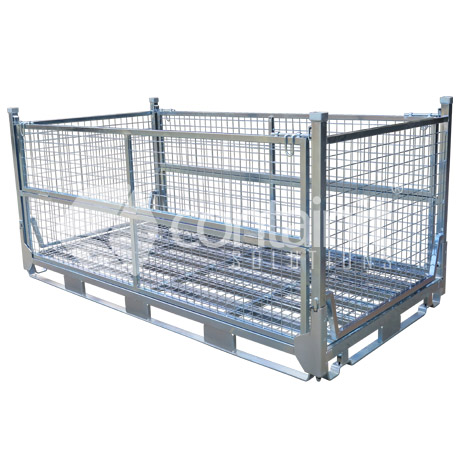 Double Size Full Height Collapsible Mesh Cage