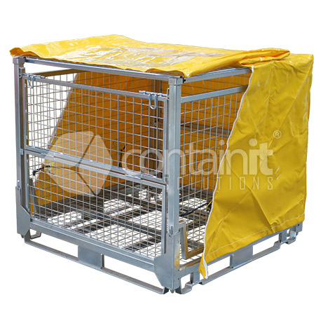 PVC weather cover (for use with lid)