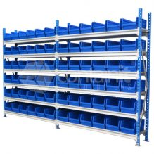Storeman® Longspan Shelving with Small Buckets