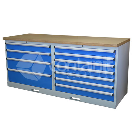 CHD-47DPT (4 Drawer & 7 Drawer Workstation with Ply Worktop)