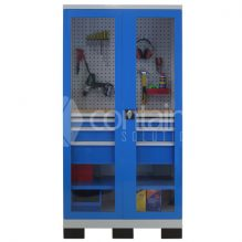 1010 Series Storeman® Workstation Cabinets with Clear Doors