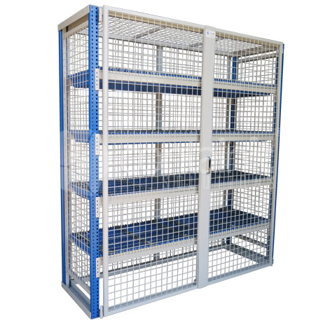 Lockable Bunded Storeman® Longspan Shelving