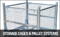 Storage Cages and Pallets Systems