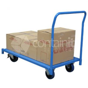 Large Steel Platform Trolley