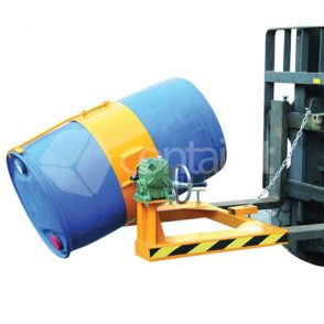 Drum Rotator Forklift Attachment