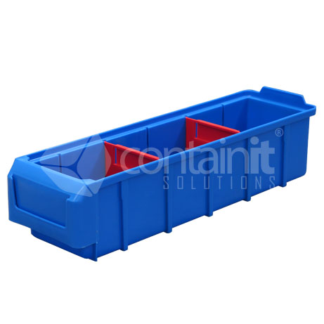 CPB-101040 Plastic Parts Box with dividers