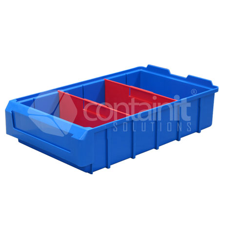 CPB-201040 Plastic Parts Box with dividers