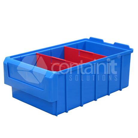 CPB-202040 Plastic Parts Box with dividers