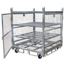 1360 Logistics & Storage Cage with Single Point Castor Lock