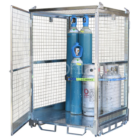 1800 Craneable Gas Cylinder Cage (2)
