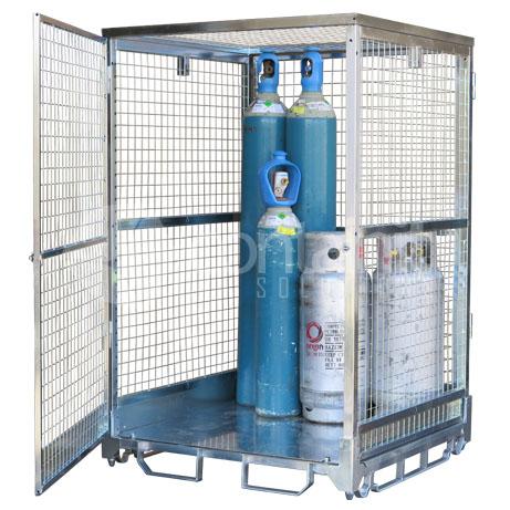1800 Gas Cylinder Storage Cage (2)