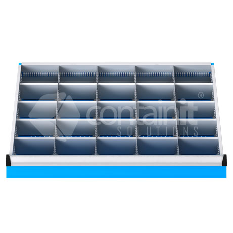 DDM-251 (25Metal Compartment Drawer Fitout)