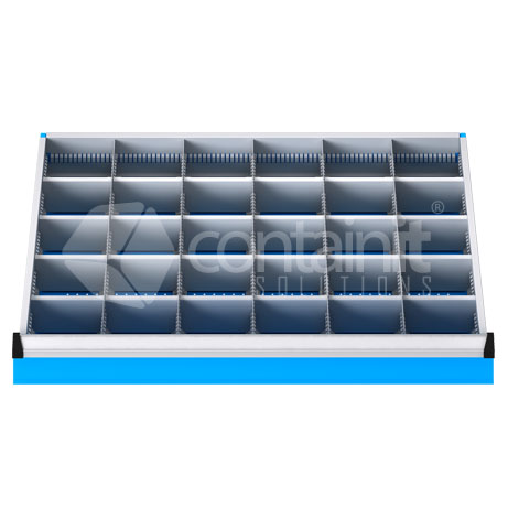 DDM-301 (30 Metal Compartment Drawer Fitout)