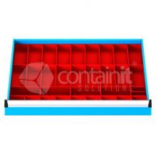 Storeman® Plastic Bucket Drawer Compartment Insert Options