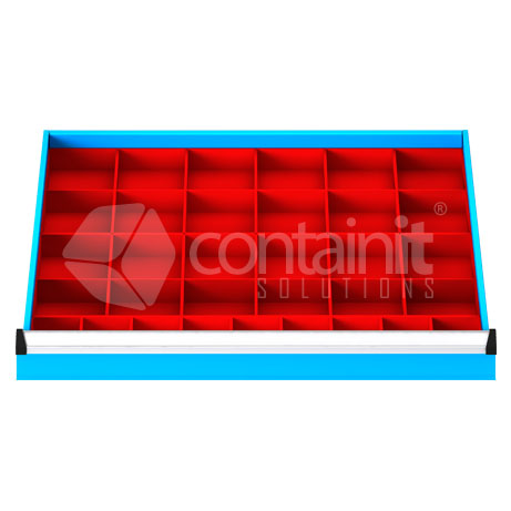 DDP332 (33 Plastic Compartment Drawer Fitout)