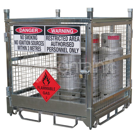 Storage Cage for 18kg Cylinders