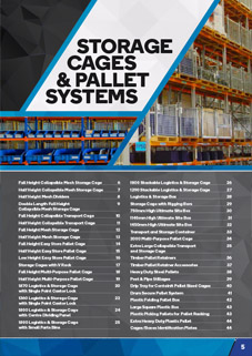 Storage and Pallet Systems Catalogue