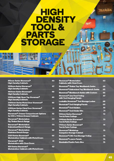 High Density Tool & Parts Storage Catalogue