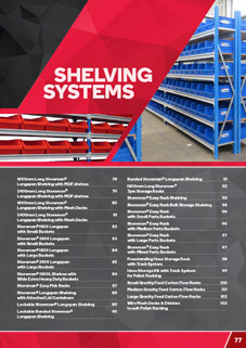 Shelving Systems & Accessories Catalogue
