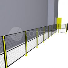 Modular Safety Barrier System