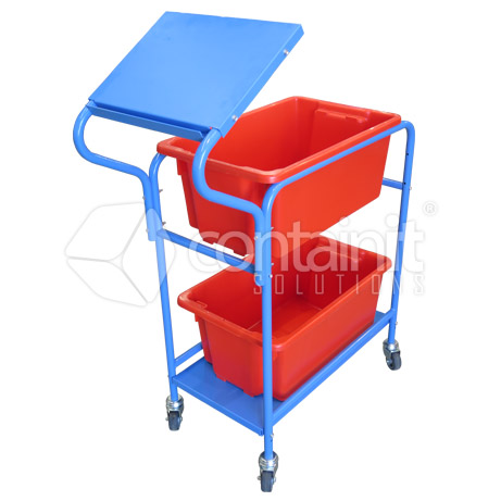 Stock Picking Trolleys 2 crates