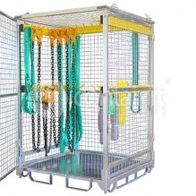 Storage Cage with Rigging Bars