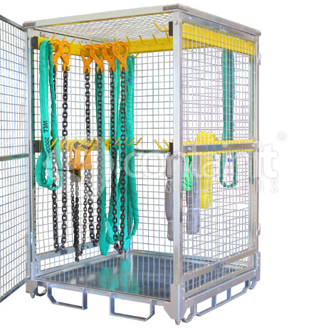 Storage Cage with Rigging Bars no lugs