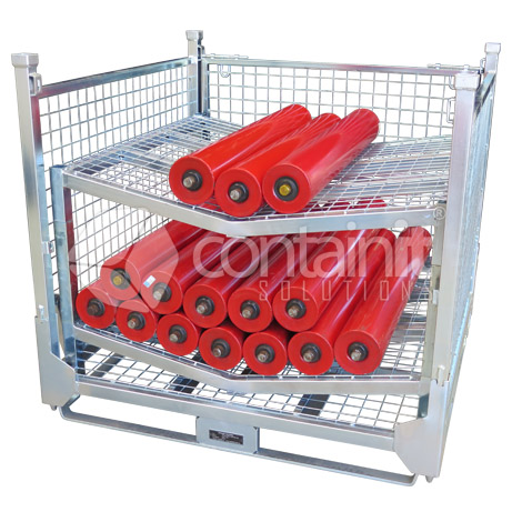 Storage Cages with 2 V Racks