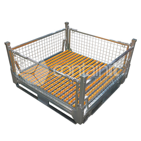Battery Storage & Handling Cages